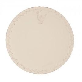 Keramický talíř ve venkovském stylu 32312 (SET 6 ks)